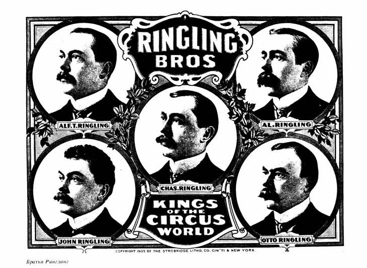 Братья Ринглинг