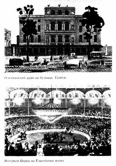 Интерьер цирка на Елисейских полях
