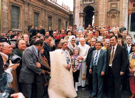 Советские артисты цирка в Ватикане