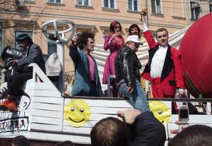 Первый международный фестиваль клоунов «Комедиада» в Одессе