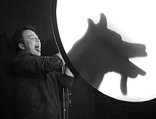 Леланд Фолкнер (США)- театр теней – Leland Faulkner (USA) – Shadowgraphs