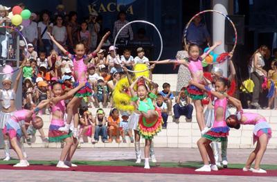 С 29 июня по 1 июля в Якутске - третий Международный молодежный цирковой фестиваль «Мамонтенок-2012» .