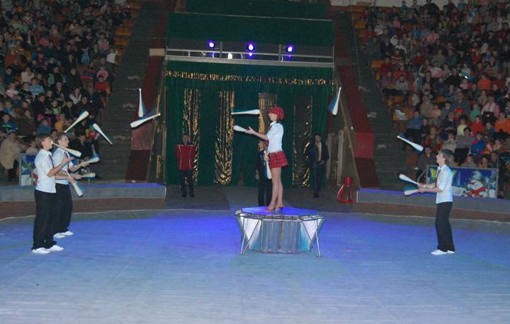 Жонглеры Сафаргалины