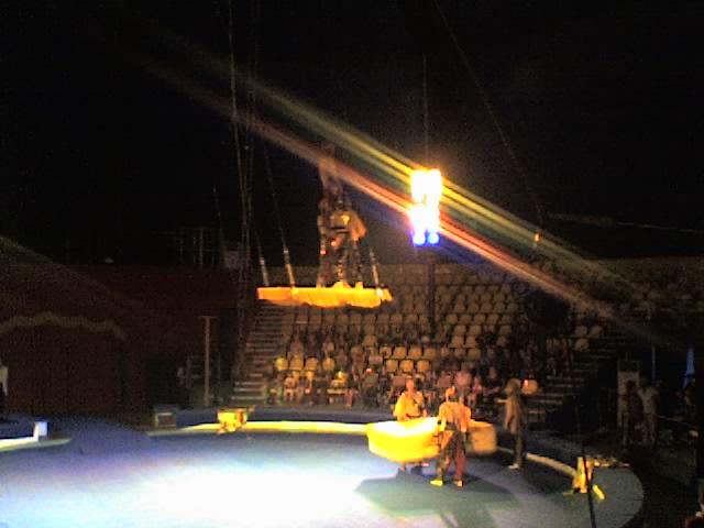Премьера новой программы в цирке на Речном Вокзале.