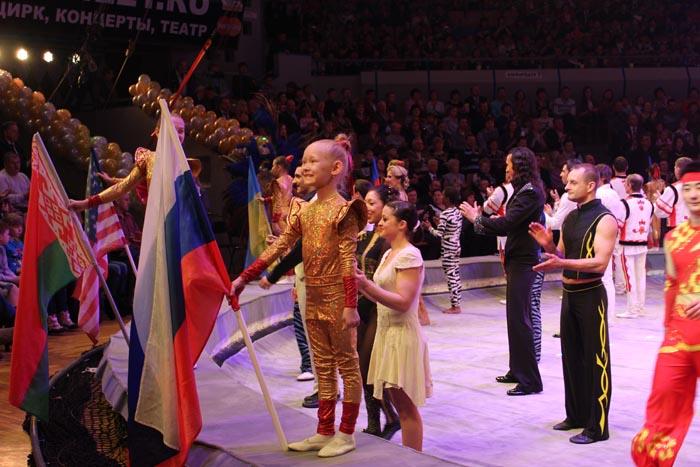 Артисты Росгосцирка на VI Международном фестивале  циркового искусства в Ижевске