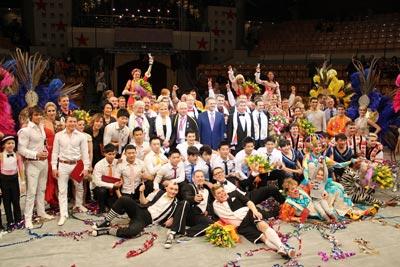 В Ижевске завершился Международный фестиваль циркового искусства