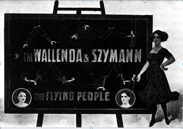 Воздушные гимнасты Валленда и Шиманы