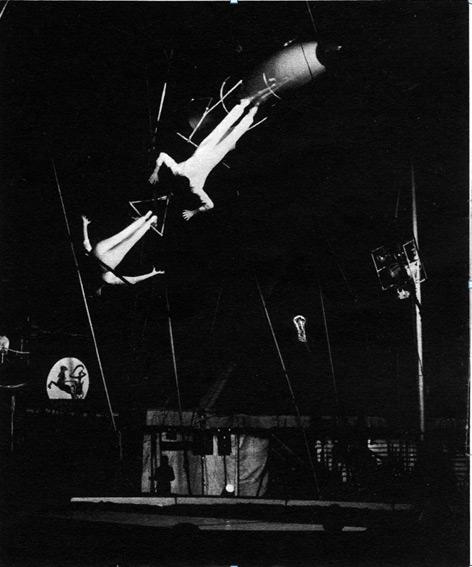 Бронли в Цирке Хана рииигра. 1975 год