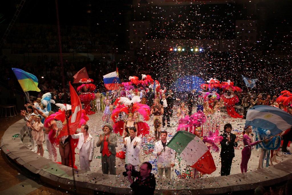 """программа """"В"""" на Втором Международном Фестивале циркового искусства в Ижевске"""