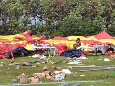В Дании цирк-шапито Арена