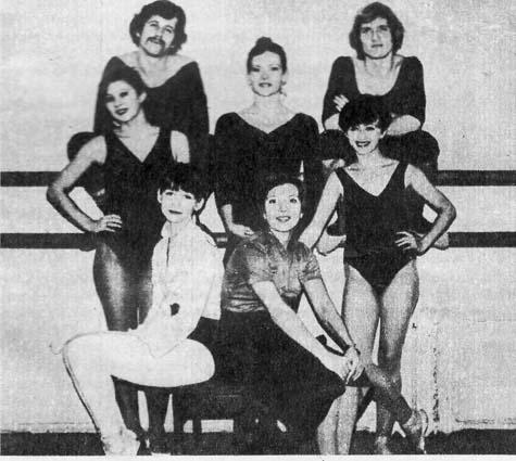 Выпускники 1980 года. В центре педагог В. Зайцева