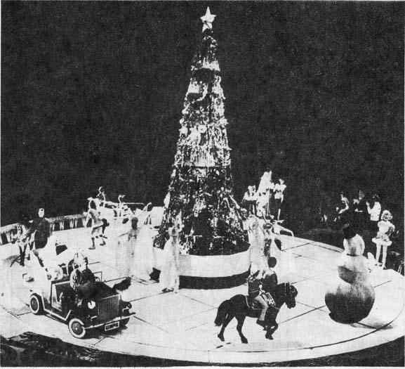 Фрагменты детского новогоднего спектакля в Московском цирке на Ленинских горах