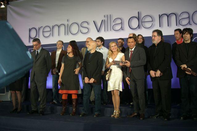 Первые Российские артисты цирка Оксана и Виталий Бобровы обладатели премии в области культуры Испании