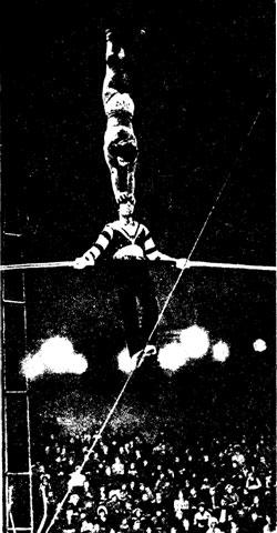 Фрагмент аттракциона «Морские забавы» под руководством М. ИВАНОВА