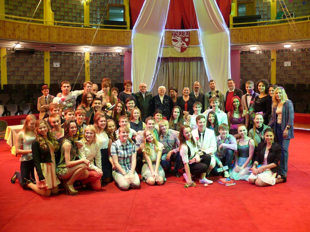 Первокурсников посвятили в студенты ГУЦЭИ 2013
