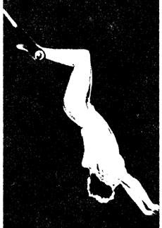 Гимнастка на трапеции E. ПОПОВА