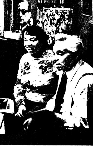A. РАЙКИН а его жена P. РОМА