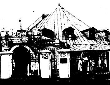Старое здание ГУЦЭИ