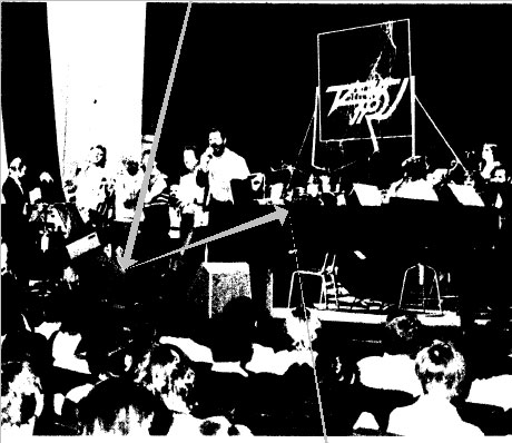 На Тартуском фестивале легкой музыки 1986