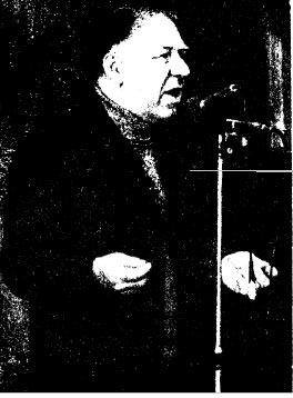 Народный артист СССР О. Попов