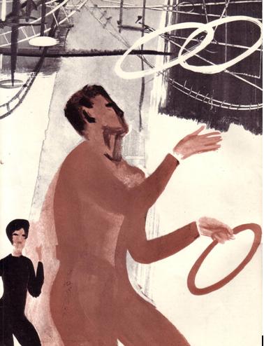 Обложка журнала Советский цирк. Февраль 1963 г.