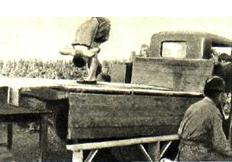 X. Себастьян выступает на фронте перед бойцами (1941 г.)
