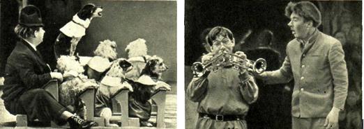 Карандаш на новогоднем представлении «У нас на елке Карандаш» на Выставке Достижений Народного Хозяйства 1962-63 гг.