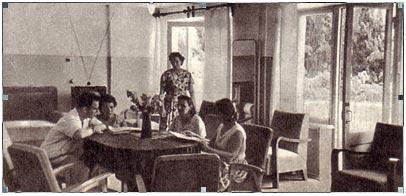 Общежитие артистов цирка в Сочи 1962 -3 гг.