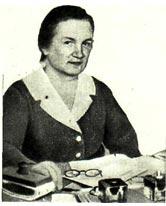 Валентина Петровна Милохина - бухгалтер Союзгосцирка 1962 гг