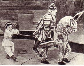 Комическая сценка «Мальчик, мельник и осел» цирк лилипупов