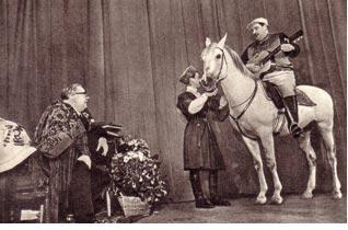 Конь Буян и Ирбек Кантемиров 1963 г