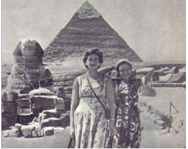 Кадр из фильма в Египте.