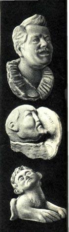 Владимир Леонидович Дуров был неплохим художником. В свободное время от выступлений в цирке он занимался живописью и лепкой. Мы публикуем часть его работ — автопортрет и дружеские шаржи на писателя А. Куприна и циркового математика Арраго.