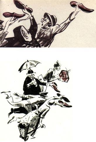 Рисунки Е. Медведева