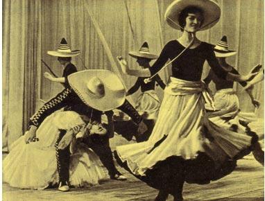 «В ритмах танца». Балетный ансамбль