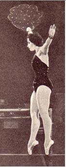Танцовщица на проволоке В. Волокова