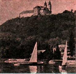 Один из чудесных уголков Венгрии — озеро Балатон
