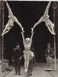 Гимнасты на кольцах Сирицкие