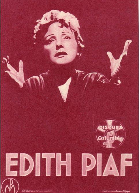 Эдит Пиаф - певица демократической Франции