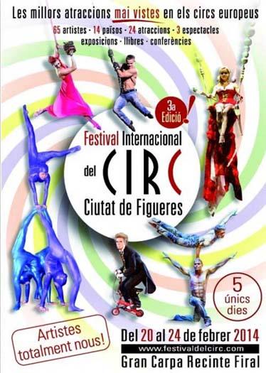 В Испании пройдет II Международный цирковой фестиваль «Кастильо де Фигерес»