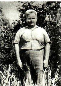 Вячеслав Кузьмин - юный богатырь