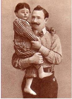Г. М. Донской с куклой
