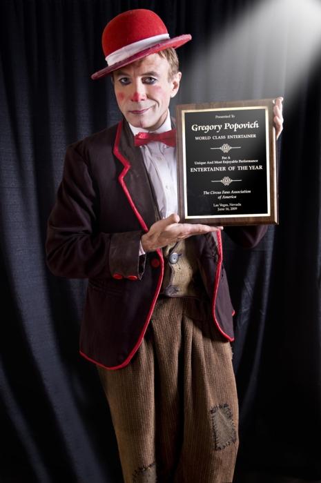 «Американская Цирковая Ассоциация признала Григория Поповича -«Артистом Года»