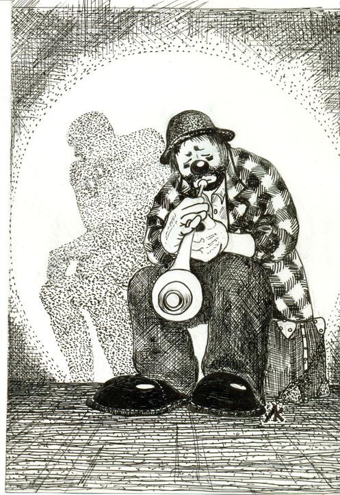 моноспектакль «Клоун-сапиенс вернулся»