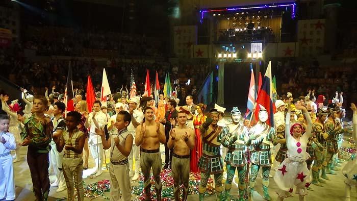Говорят участники 8-го Международного фестиваля циркового искусства в Ижевске
