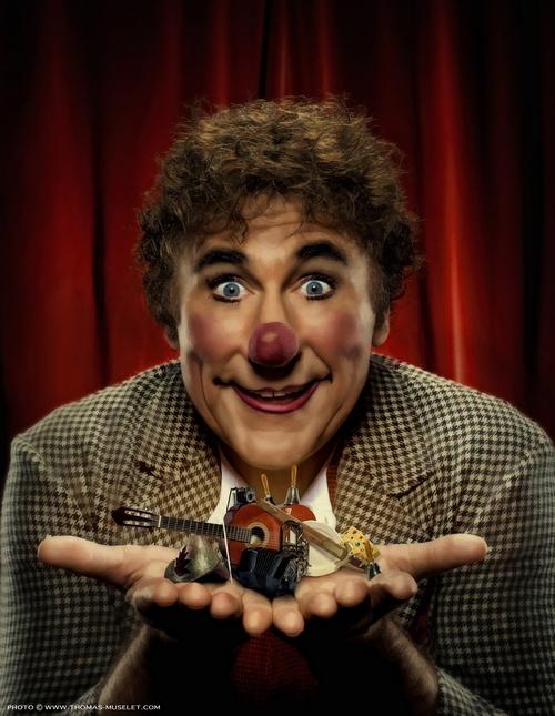 Знаменитый клоун Дэвид Ларибле.