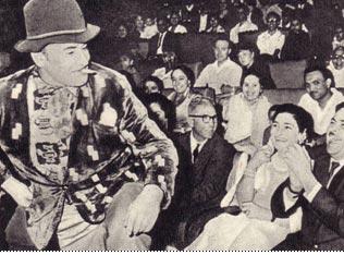 Клоун  Борис   Вяткин   очень  понравился   Раджу   Капуру