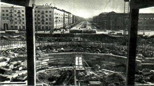 В Перми воздвигается цирк 1967 г.