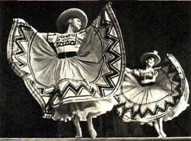 Народный мексиканский танец «Ла Уастека»
