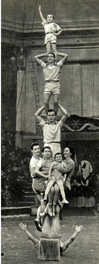 Труппа «Икарийские игры» под руководством В. Плинера